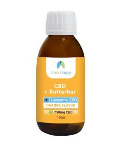 CBD+Butterbur herb150ml