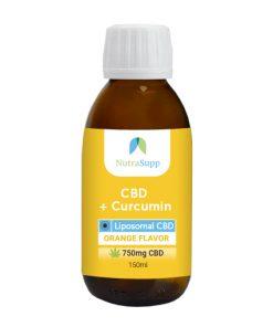 CBD+Curcumin150ml