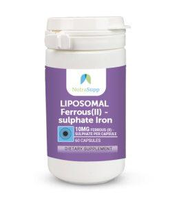 CAPSULES-LIPOSOMAL Ferrous(II) - sulphate Iron-10 MG